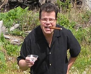 Mark Schilling, part owner of Distillery