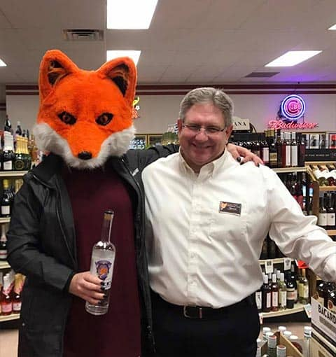 Soupley's Vodka Tasting with Mascot