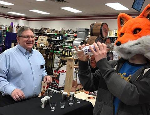 Hunt Club tasting event December