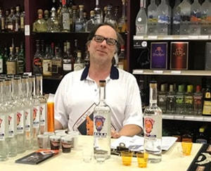 Greg Albershardt, part owner of Distillery